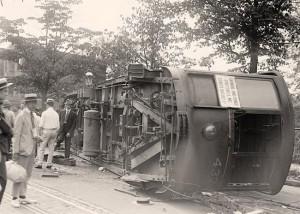 Streetcar-Crash